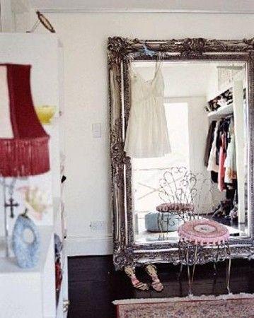 espejos y feng shui dormitorio