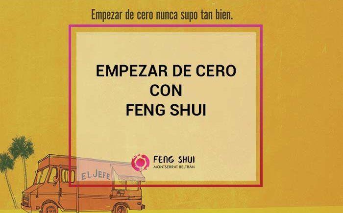 empezar de cero con feng shui