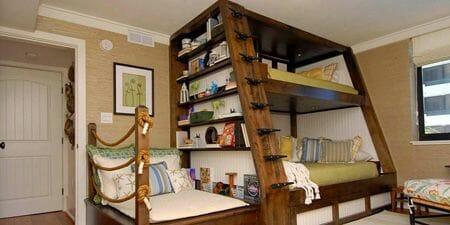 Camas literas en feng shui y camas plegables for Cuarto tipo estudio