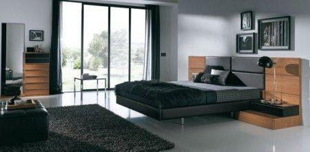 Feng Shui dormitorio entrevista televisión cama negra