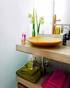 detalles calidos baño feng shui