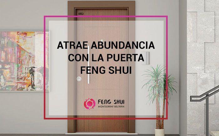 atrae abundancia con la puerta feng shui