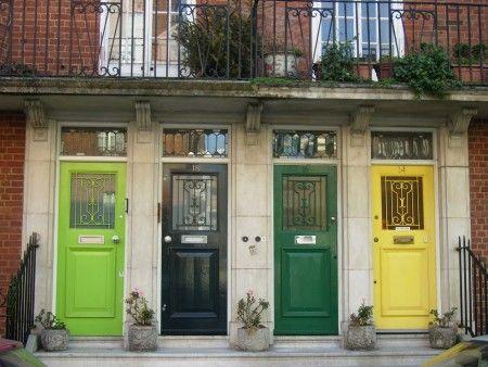 puerta feng shui de colores