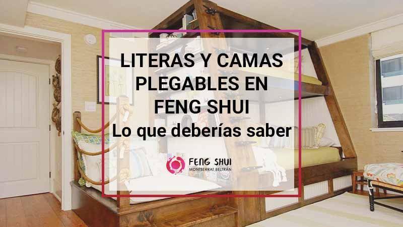 FengShui Literas y camas plegables