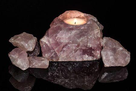 minerales cuarzo rosa