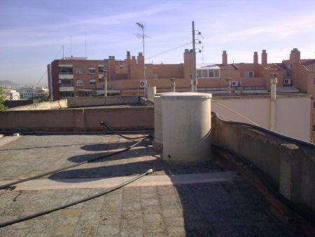 en tejado
