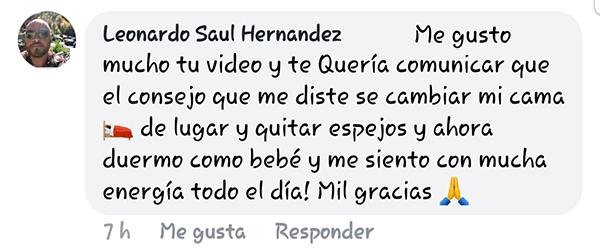 Testimonio Leonardo Saul Hernandez Facebook