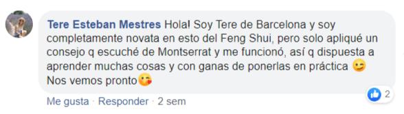 Testimonio Tere Esteban Facebook
